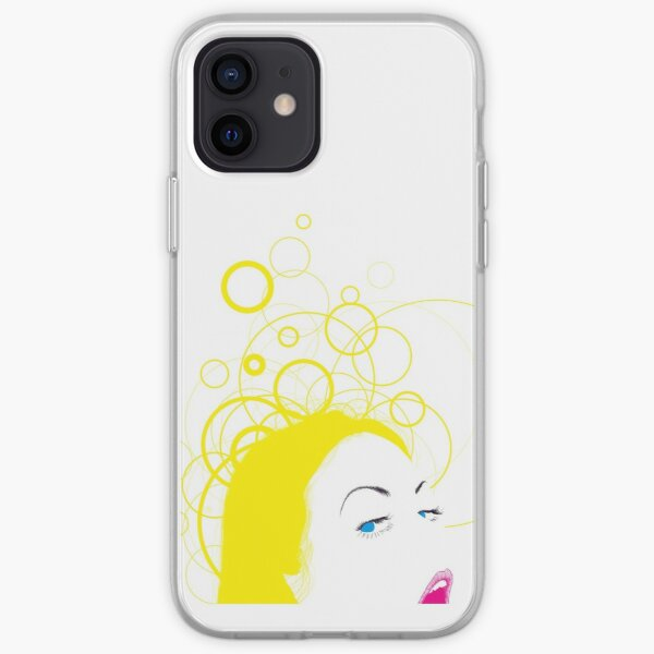 blow girl iPhone Soft Case