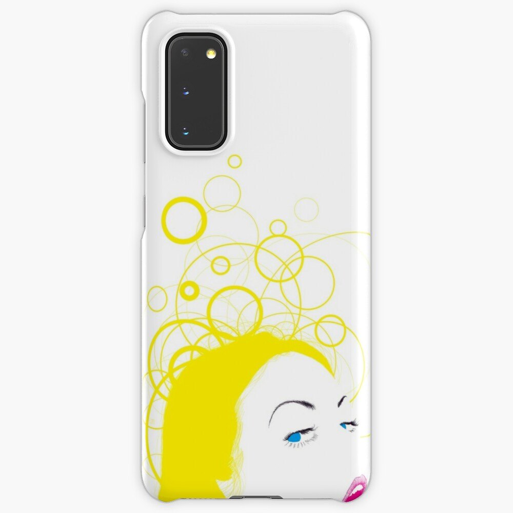 blow girl Case & Skin for Samsung Galaxy