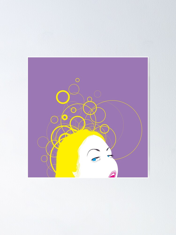 Alternate view of blow girl Poster