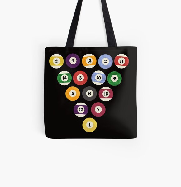 Rack 'em Up All Over Print Tote Bag