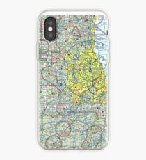Chicago Sectional Aeronautical Chart iPhone Case