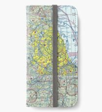 Chicago Sectional Aeronautical Chart iPhone Wallet/Case/Skin