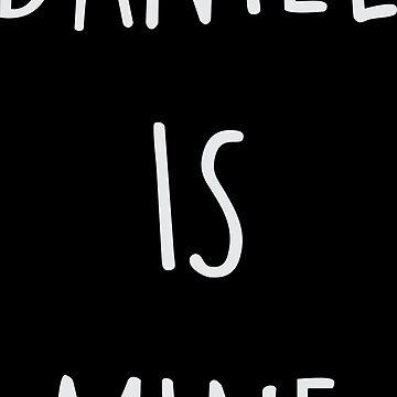 Daniel es mío de dexta