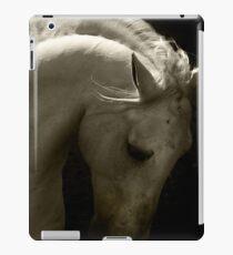 White Horse iPad Case/Skin
