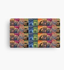 HP Book Covers Canvas Print