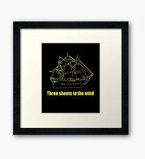 Tree sheets to the wind Framed Print