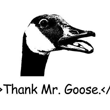 Thank Mr. Goose. by Sako-san