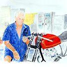 Honda and Engineer by Paul Gilbert
