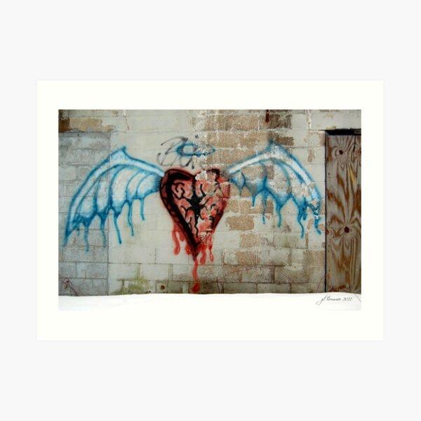 Broken Angel Art Print