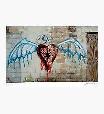 Broken Angel Photographic Print