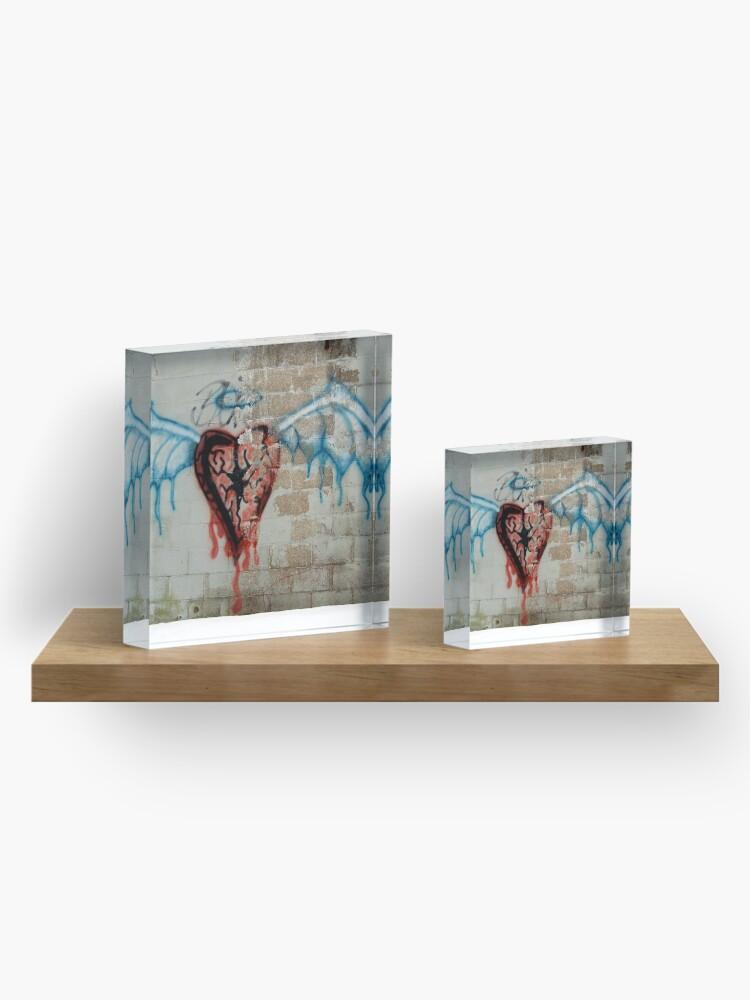 Alternate view of Broken Angel Acrylic Block