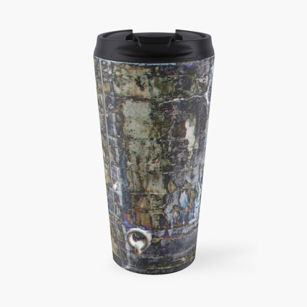 Up the Ladder, Over the Wall Travel Mug