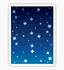 Starry Skies Gradient Sticker