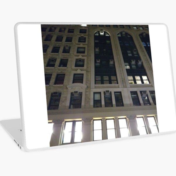 New York, Brooklyn, Manhattan, New York City, Buildings, streets, trees Laptop Skin