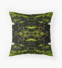 Wood Sorrel, Ness Woods, County Derry Throw Pillow
