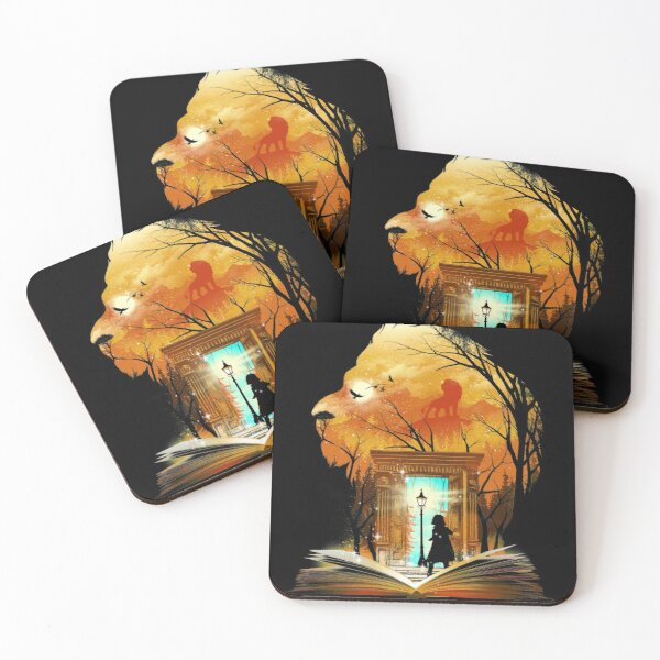 Courage Dear Heart Coasters (Set of 4)