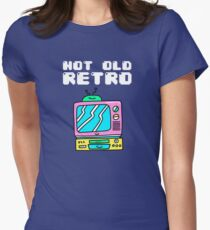Not Old, Retro Women's Fitted T-Shirt