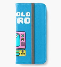 Not Old, Retro iPhone Wallet/Case/Skin
