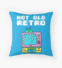 Not Old, Retro Throw Pillow