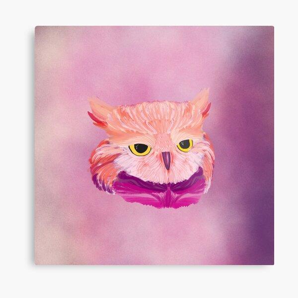 Owl Ways Watching Metal Print