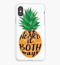 I've Heard it Both Ways iPhone Case/Skin
