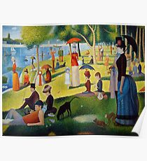 A Sunday Afternoon on the Island of La Grande Jatte Poster