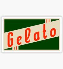 retro gelato Sticker