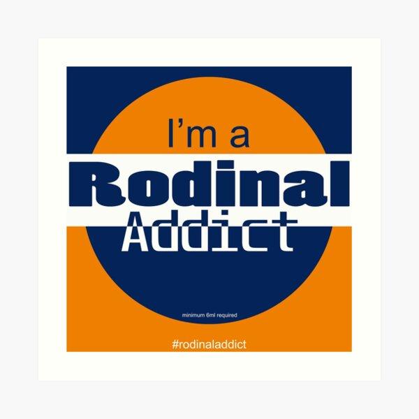 Rodinal Addict Art Print