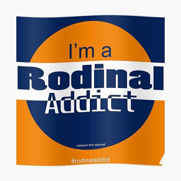Rodinal Addict Poster