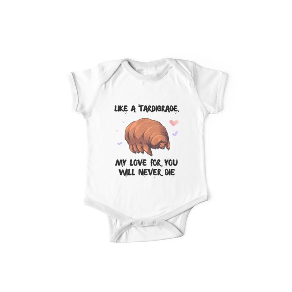 55e8ac3b260 Unisex Baseball T-Shirt. Tardigrade love