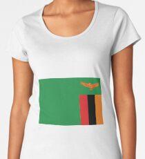 Sambia Premium Rundhals-Shirt