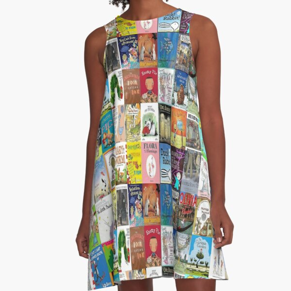 Children Picture Book Covers  A-Line Dress