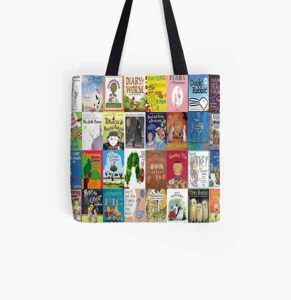 Children Picture Book Covers  All Over Print Tote Bag