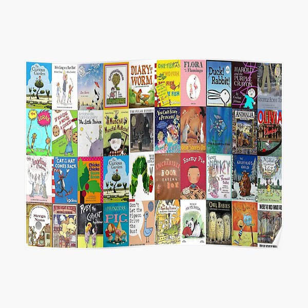 Children Picture Book Covers  Poster