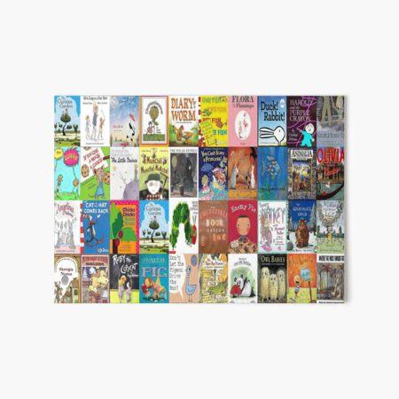 Children Picture Book Covers  Art Board Print