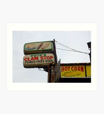 Coney Island No.17 Art Print