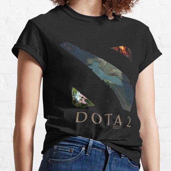 Dota 2 Logo: Windowed Map Classic T-Shirt