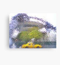 Rainy day at LAX Canvas Print
