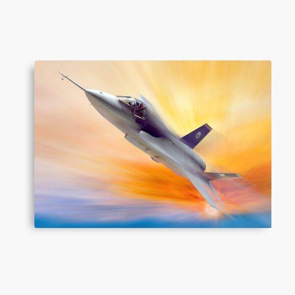 JSF F-35 Lightning Metal Print