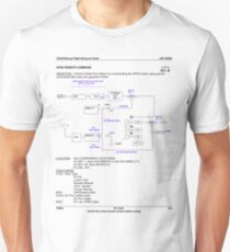 JSC92900 Orbiter Rescue Instructions p.3.ii Unisex T-Shirt