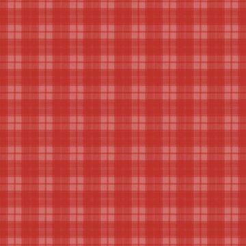 Bright Valiant Poppy Red Plaid by coverinlove