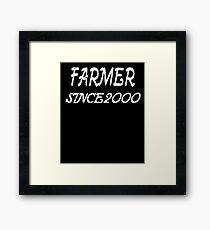 Farmer Since 2000 Framed Print