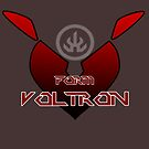 Valentine's Special Heart Series - Voltron Keith symbol T-shirt Design by k-lionheart
