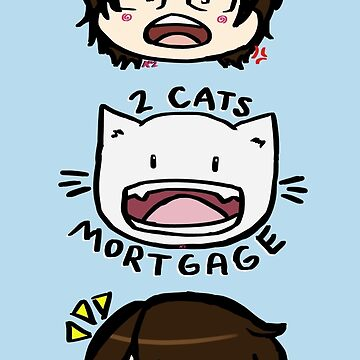Q- 2 Cats & A Mortgage by anico-art