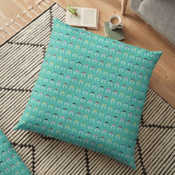 Voltron Paladin Blue Helmet Simplified Floor Pillow
