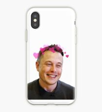 Elon Musk - w hearts iPhone Case