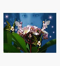 VISIONS OF FAIRIES Photographic Print