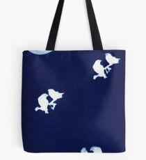 Moon Birds Tote Bag