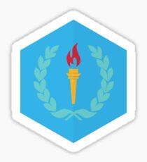 Olympic Torch Sticker