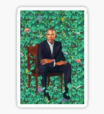 Barack Obama Portrait Sticker